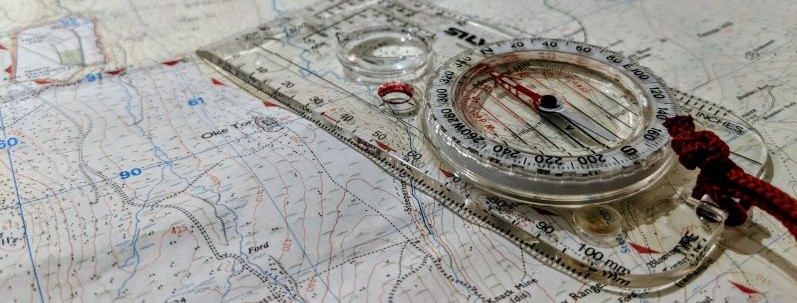 Dartmoor Map and Compass
