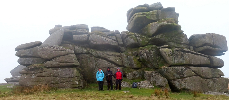 The team at Fur Tor